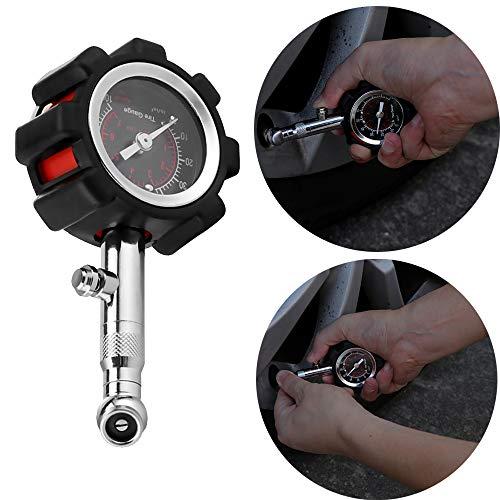 OurLeeme des pneus de Pression des pneus Air Jauges Tableau testeur Compteur kg / cm2 0-100 PSI pour Camion Auto pour véhicules