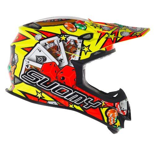SUOMY Casco Motocross MR Jump, Amarillo (Jackpot Yellow), 2XL