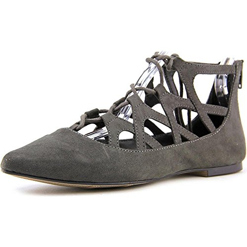 Mia Anamarie Toile Chaussure Plate Anthracite