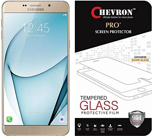 Chevron Amazing PRO+ 0.3 mm 2.5D 9H Hardness Anti-Explosion Tempered Glass Phone Screen Protector For SAMSUNG Galaxy A9 Pro - Retail Packaging - Transparent