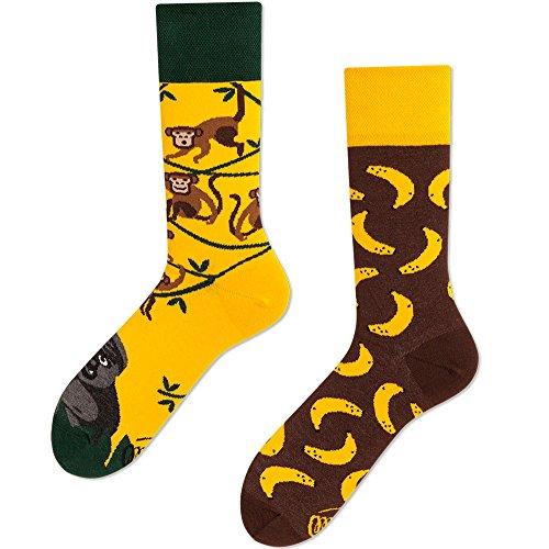 Many Mornings Socken Affe Erwachsene-39-42 -