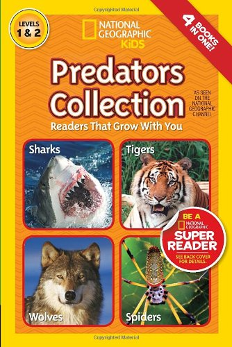 Predators Collection (National Geographic Readers, Levels 1 and 2)