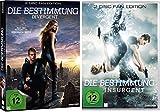 Die Bestimmung - Divergent und Insurgent Fan-Edition (Teil 1 + 2) im Set - Deutsche Originalware [4 DVDs]