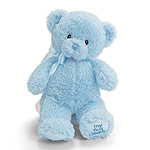 Enesco 21033 My First Teddy Petit Ours Bleu Polyester 25,5 cm