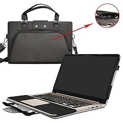 """Etui de protection en cuir PU et aussi comme un sac portable Coque Sacoche Pochette en désigné spécialement pour 15.6"""" ASUS VivoBook S15 S510UA S510UQ S510UN Serises ordinateur"""