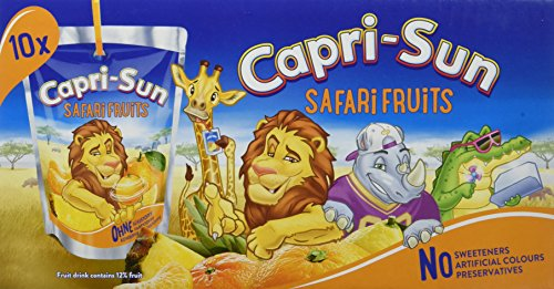 Capri-Sun Safari Fruits, 4er Pack (10 x 200 ml)