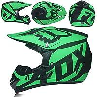 Casco Integral para Motocicletas Todoterreno, Casco de Motocicleta con patrón Personalizado para Hombres, Cascos de Motocross de Bicicleta de montaña, Cascos 54-61cm
