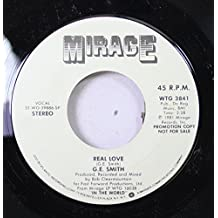 G.E. SMITH 45 RPM REAL LOVE / REAL LOVE