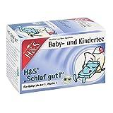 H&s Schlaf gut Bio Baby- und Kindertee Filterbeut. 20 stk