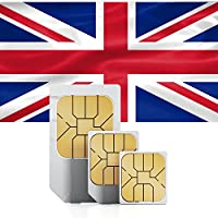 travSIM 10 GB Prepaid Data Sim Card with 30 Days Validity for UK/England