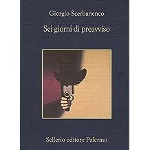 Sei giorni di preavviso (I casi di Arthur Jelling Vol. 1) (Italian Edition)