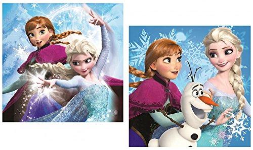 Disney Frozen Die Eiskönigin KISSENBEZUG Kissenhülle (Rosa 1) (Blau 1)