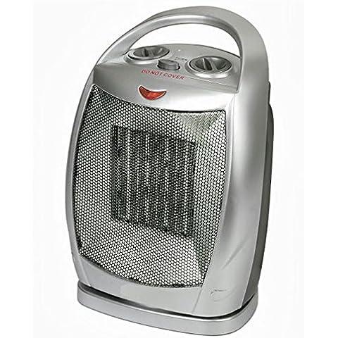 Calefactor Radiador eléctrico cerámico oscilante caldobagno 850-1500 w