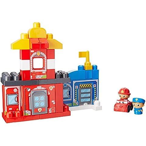 First Builders - Equipo de rescate, juego de construcción (Mega Brands CNG25)