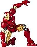 Special effects Revoltech Iron Man 2 Iron Man Mark 6 non-scale ABS & PVC l'action peinte symbolise le nouveau legs de version de paquet DE Revoltech
