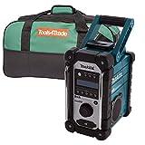 Makita DMR109 DAB 10.8v-18v LXT/CXT LI-ion Job Site Radio With 4pc LXT400 Bag