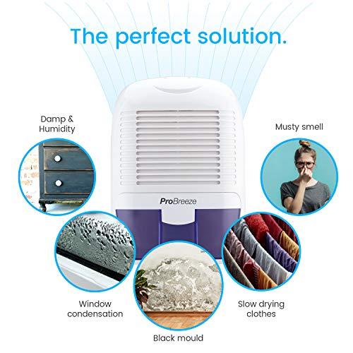 Pro Breeze 1500 ml tragbarer und kompakter mini Luftentfeuchter - 4