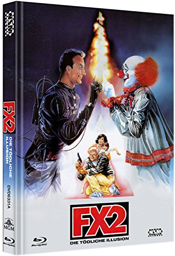 F/X 2 - die tödliche Illusion - uncut (Blu-Ray+DVD) auf 444 limitiertes Mediabook Cover A [Limited Collector's Edition]