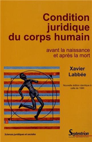 Condition juridique du corps humain: Avant la naissance et après la mort