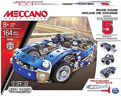 Spin Master - Auto sportive assortite. Meccano. 6028434