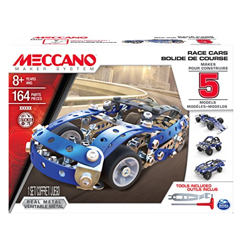 MECCANO Juniors Set 5 Modelli Race Car, 6028434