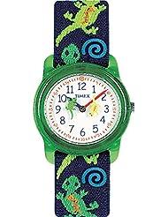 Timex Jungen-Armbanduhr Analog Quarz Textil T72881