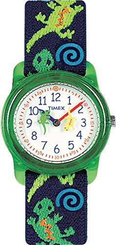 timex-kids-t72881-quartz-watch-with-white-dial-analogue-digital-display-and-multicolour-geckos-elast