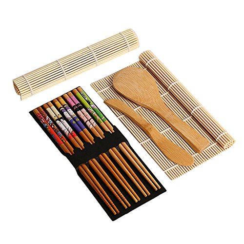 BRone Kit de Fabrication de Sushi, Complet Bambou Kit...