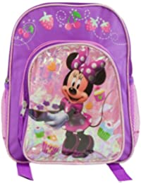Small Backpack - Disney - Minnie Mouse Cup Cake 12""