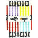 "LEGO Star Wars - Espada láser (16 espadas y 4 armas extra, ""Black Edition"")"