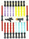 LEGO Star Wars - 16 + 2 + 2 LASERSCHWERTER - 20 Waffen in der neuen Farbe
