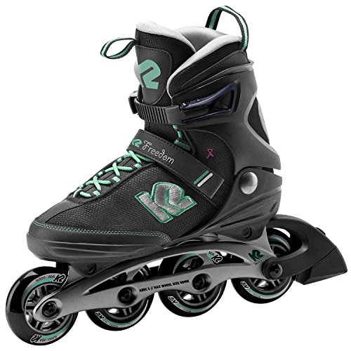 K2 Inline-Skates FREEDOM W 1 Black-Green 9,5