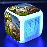 BEESCLOVER Changing Night Light Alarm Clock Kids Toy Gift 2