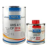 Ludwig Lacke PROFIX 1 Liter Klarlack CP 2014 2K UHS 4:1 mit passendem Härter CP 3014 250 ml