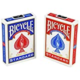 2 nuovi mazzi di carte e sigillato in bicicletta gioco - 1 rosso e 1 blu 2 New & Sealed Decks of Bicycle Playing Cards - 1 Red & 1 Blue