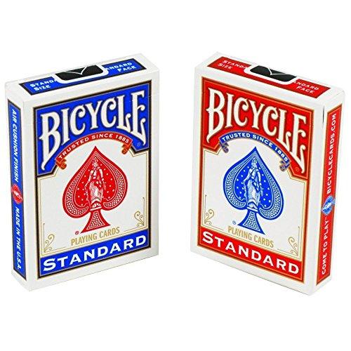 2-nuovi-mazzi-di-carte-e-sigillato-in-bicicletta-gioco-1-rosso-e-1-blu-2-New-Sealed-Decks-of-Bicycle-Playing-Cards-1-Red-1-Blue