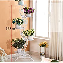 porte plante de style europen simple balcon fer tage style flower rack multi
