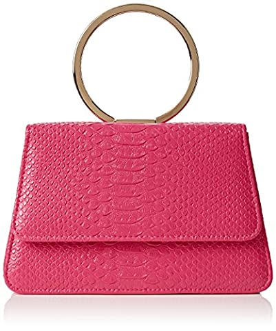Chaussure Fuschia Femme - SwankySwans Piper Snakeskin Pu Leather Clutch Bags