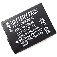 Remplacement DMW-BLC12 BLC12 1200mAh Li-ion Batería para Panasonic DMC-GH2 DMC-FZ200 DMC-G5 DMC-G5 DMC-GH2GK FZ1000K 4K
