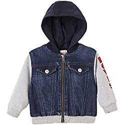 Levi's Kids NN40004 46 Jacket, Blouson Bébé garçon, Bleu (Indigo), 18-24 Mois (Taille Fabricant:24M)