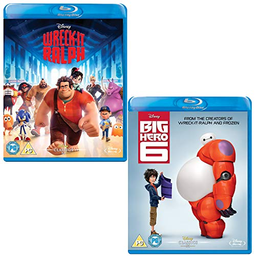 Wreck It Ralph - Big Hero 6 - Walt Disney 2 Movie Bundling Blu-ray