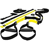 Entraînement TRX - Pro 3 Suspension Training Kit, composants de qualité commerciale avec trois types de solutions d'ancrage