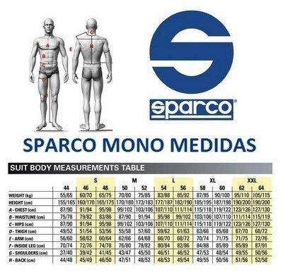 Mono-Sparco-Track-KS-1-tg-XXL-Nero