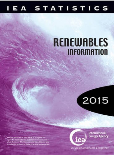 Renewables information 2015 par International Energy Agency