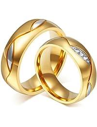 Trauringe hochzeit gold  Suchergebnis auf Amazon.de für: eheringe gold 585er: Schmuck