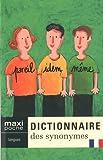 Telecharger Livres Dictionnaire des synonymes (PDF,EPUB,MOBI) gratuits en Francaise