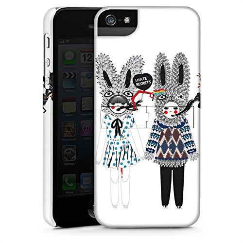 Apple iPhone X Silikon Hülle Case Schutzhülle Hasen Traum Fantasie Premium Case StandUp