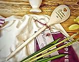 Cucchiaio in legno personalizzato–con qualsiasi messaggio–perfetto per la nanna, nonna, regalo per la mamma