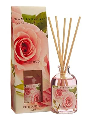 Wax Lyrical 50 ml Reed Diffuser, Rose Bud from Wax Lyrical