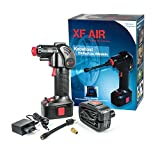KN-TECH XF Air Akku Luftpumpe mit Akku und Auto Adapter